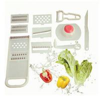Household Multi-Functional Shredder Multi-Function Shredder 11 Piece/Shred/Rub Silk Grater/Paring Knife/Cooking Tools ILCF5001