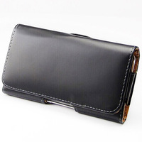 """For Apple iPhone 6 Plus 5.5"""" + 4.7"""" inch Universal Belt Clip Case Leather Pouch"""