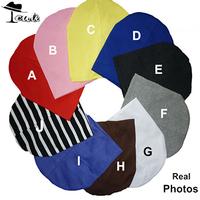 Baby Cap (lot=100pcs)Hot sale high quality simple solid color 19*20cm Autumn baby hat kids caps children Beanies Boy&Girl hats