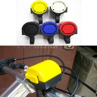 Electronic Bicycle Bike LoudCycling Alarm  Bell Horn Ring Loud Powered By 2x AAA Battery Color by random Drop Shipping 4299