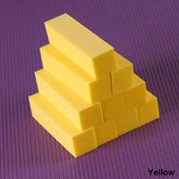 10pcs Buffing Sanding Block Files Acrylic Pedicure Manicure Nail Art Tips Nail Tool Yellow Color NA-0016-YW