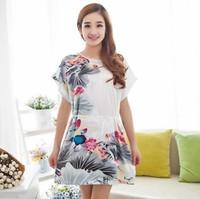 sexy women nightwear Nightgowns Floral sleepwear Character robe