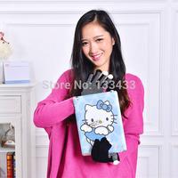 Free ShippingVogue Women/Men Anti-slip Touch Screen Gloves Full Finger Black Mitten
