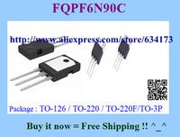 Free Shipping FQPF6N90C TO-220F 10pcs/lot