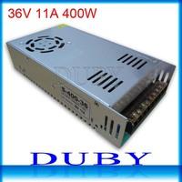 10piece/lot  36V 11A 400W Switching Power Supply Driver For LED Strip light Display AC100V-240V Input,36V Output Free Fedex