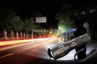 New 2014 cree flashlight XM-L T6 2000 Lumens High Power Torch Zoomable UltraFire 18650 led flashlight camp lantern