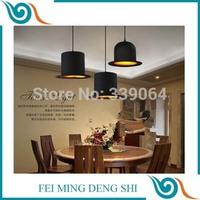 new christmas home decoration ceiling light 220v led e27 bulb modern Lustre chandelier lampe Top Hat Lights lamp golden inside