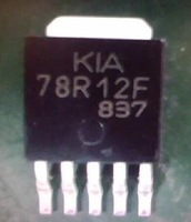 Free shipping 78R12F KIA78R12F genuine crystal high-pressure pipe TO-252 patch panels