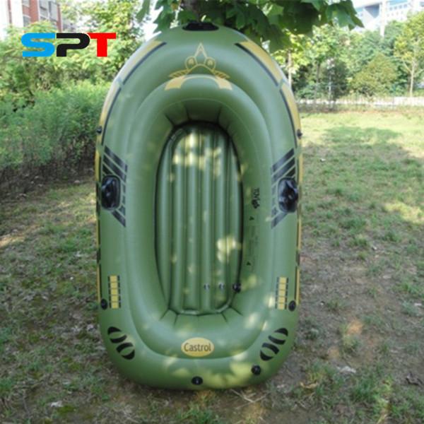 SPT rubber kayak paddle fishing inflatable boat PVC barco outboard motors rowing boats saida de praia caiaque de pesca S283(China (Mainland))