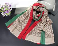 Women Men High Quality brand silk Long Scarf Lady Shawl Cashmere Scarf 180*65cm Classic G Style New Fashion scarf