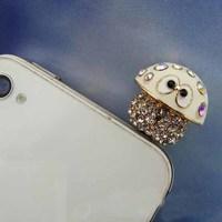 New Arrival Fashion Small Mushrooms Head Mobile Phone Accessories Dustproof Plug Mobile Phone Dust Plug SAP003