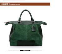 Free Shipping 2014 women genuine leather handbag Famous Designers Brand shoulder Women Bags fashion vintage messenger bag