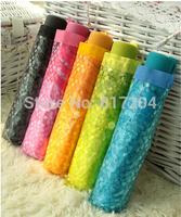 High quality Folding Transparent umbrella parapluie femme transparent Wholesale Pure umbrella Free shipping ys011
