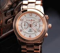Free International Direct Shipping, Men's Fashion Leather strap watches military clock quartz watch sports Wristwatches, 715630