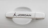 Free shipping Michael Jordan basketball car sticker reflective car door handle