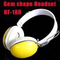 HF-180 Original Diamond Shape Gaming Headset High Quality Anti Noise Headphone Earphone With Micphone Mic For Computer Gamer