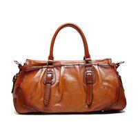 Guaranteed 100% genuine leather bolsa Women bag Fashion Brown Women handbag Shoulder Bag 2015 new