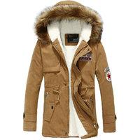 Best selling new arrival men's winter jacket casual slim warm winter men jacket coat S--4XL  3 colors