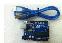 MEGA328P ATMEGA16U2 20set UNO R3 for Ardui 20set=20pcs board+20 cable =40pcs Free Shipping