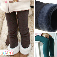 BP087 Free shipping 2014 new baby girls skinny pants winter child pants warm and thick kids leggings retail and wholesale