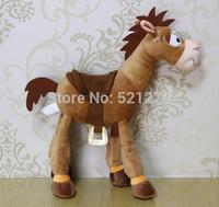 Free Shipping 1pcs Toy Story Exclusive Plush Figure Bullseye The Horse 35cm