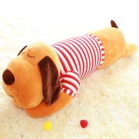 "27"" prone dog plush toy doll sleep long oversized pillows lovely birthday present"