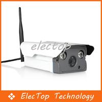 Free shipping Woshida HD 720P WIFI 1.0MP CCTV Camera Network Bullet Camera Array LED With 16G TF Card