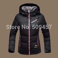 New arrival!2014 women's short paragraph Slim thick winter jacket women
