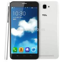 Case&film free! Original TCL S720 WCDMA white,5.5'' IPS screen 1280*720,MTK6592 Octa Core 1.4ghz, 1GB RAM 8G ROM,Dual SIM,GPS