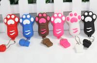New Cartoon Cat Claw Usb flash drive 8gb cat's claw usb flash drive usb, pendrive/car/gift/disk ,6 colours
