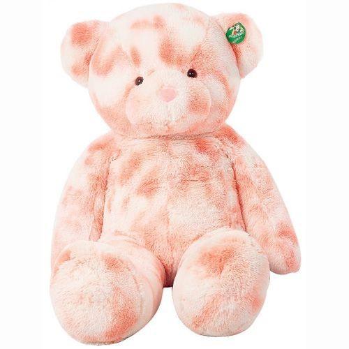 43 inch Large Hug Bear Plush Teddy Bear Tie-dye Pink Bear Plush Toy(China (Mainland))