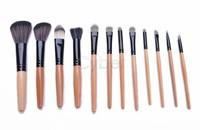 HOT Selling 12 PCS Professional Portable Makeup Brush Set Cosmetic Tool Leopard Bag Beauty Brushes SV18 SV009328