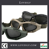 Hot safety goggles with price colorful swim goggles military goggles Army goggles