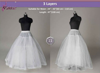 WP-016 3 Layers Ball Gown Bridal Wedding Petticoat Underskirt for Sale