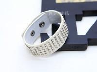 Hot Selling Fashion Personalized Retro rivet wild punk rock  Leather Charm Bracelet For Women men jewelry  Free Shipping  MD1167
