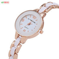 100% Quality! ANBOS Korean New Fashion Luxury Jewelry Women Dress Casual Watches Women Waterproof Ceramic Quartz Watch