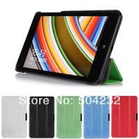 "Slim Folding 3-folders Stand Leather Case Skin Hard Back Cover Protective Skin  For Lenovo Thinkpad 8 8.3"" windows 8.1 tablet"