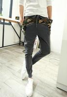 Hot new 2014 Autumn Brand Design Mens Pants Mens Joggers Loose Fashion Casual Pants Men's Sports Pants Slim Pants Free Shipping