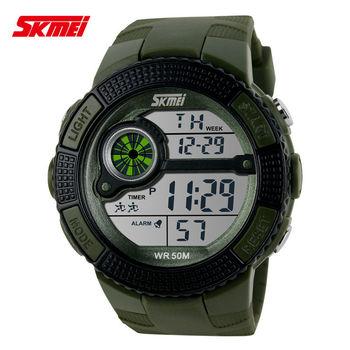 Bamoer ювелирный новое поступление мужская цифровой наручные часы для спортивной деятельности из восхождение мода спортивные часы от Aliexpress XCM3026