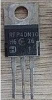 Free shipping  disassemble RFP40N10 40N10 40A 100V good measure shipments