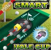 korean golf putting practice ball back to push the ball trajectory automatic blanket practice