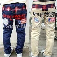 Retail kids pants 2014 children clothing Boys pants Kids clothes Baby boy children trousers clothing