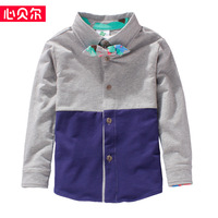 boys  long-sleeve shirts children's long sleeve tops kids brand tops boys shirt child clothes