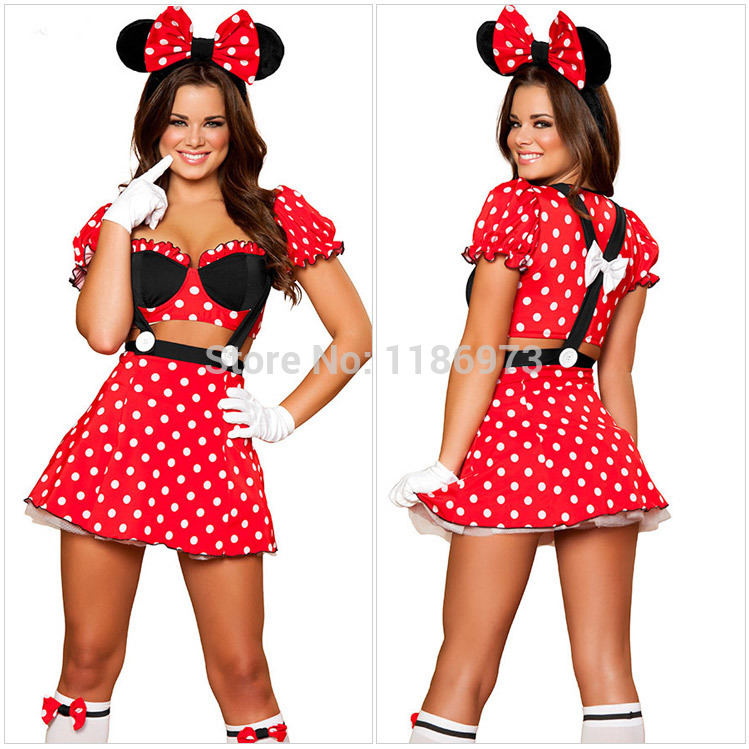 Minnie Mouse Costume Cheap Minnie Mouse Costume For