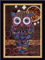 cartoon diy  Diamond painting home decorative square diamond cross stitch full set unfinish free shipping