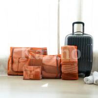 Free shipping Wholesale NEW Multi Organizer Bag, Mesh Traveling Bag Pouch, 4pcs/set
