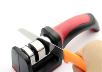 HOT SALE Two Stages Kitchen Knife Sharpener ,Sharpening Stone Household Knife Sharpener Kitchen Knives Tools #H0415