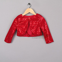 New Arrival Christmas Girls Short Coats Red Grace Jacket Fashion Kids Outwear Child Clothing Free Shipping OC41015-02^^EI