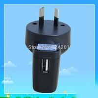 100pcs/lot,High qualityAU Plug 5V 500ma USB Charger AC Plug Power Adapter For mobile phone Free Shipping