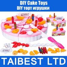 Anak birthday cake mainkan rumah mainan pendidikan baby good hadiah